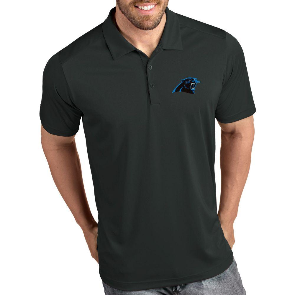 アンティグア Antigua メンズ ポロシャツ トップス【Carolina Panthers Tribute Grey Polo】