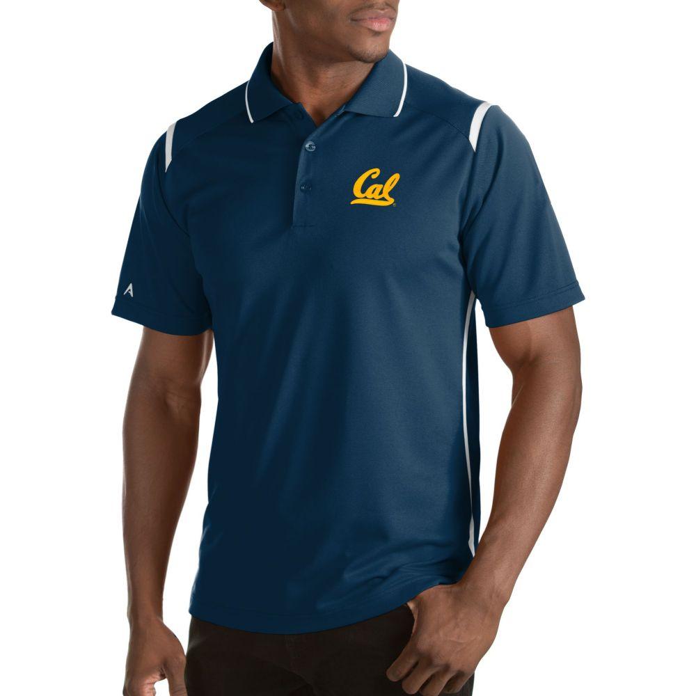 アンティグア Antigua メンズ ポロシャツ トップス【Cal Golden Bears Merit Xtra-Lite White Polo】