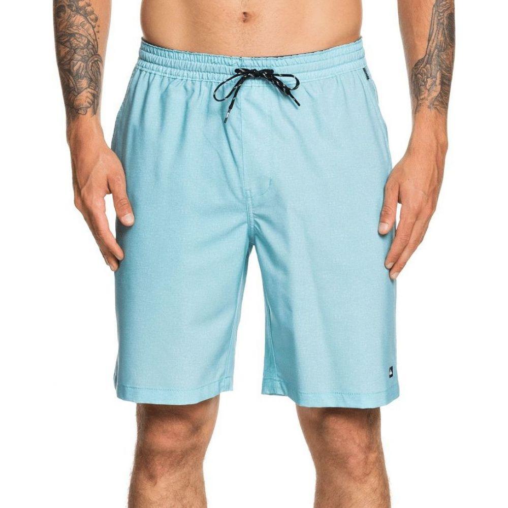 クイックシルバー Quiksilver メンズ 海パン ショートパンツ 水着・ビーチウェア【Waterman Suva Amphibian Board Shorts】Stillwater