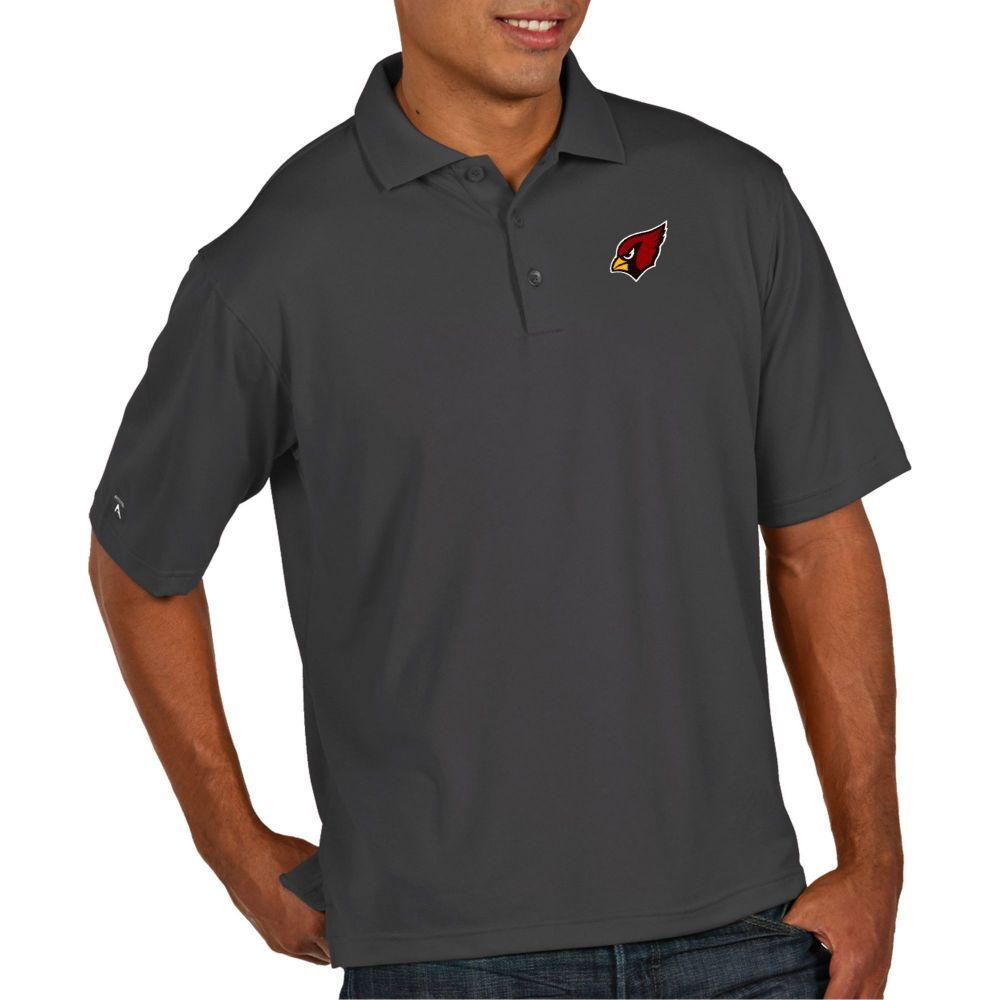 アンティグア Antigua メンズ ポロシャツ トップス【Arizona Cardinals Pique Xtra-Lite Performance Smoke Polo】