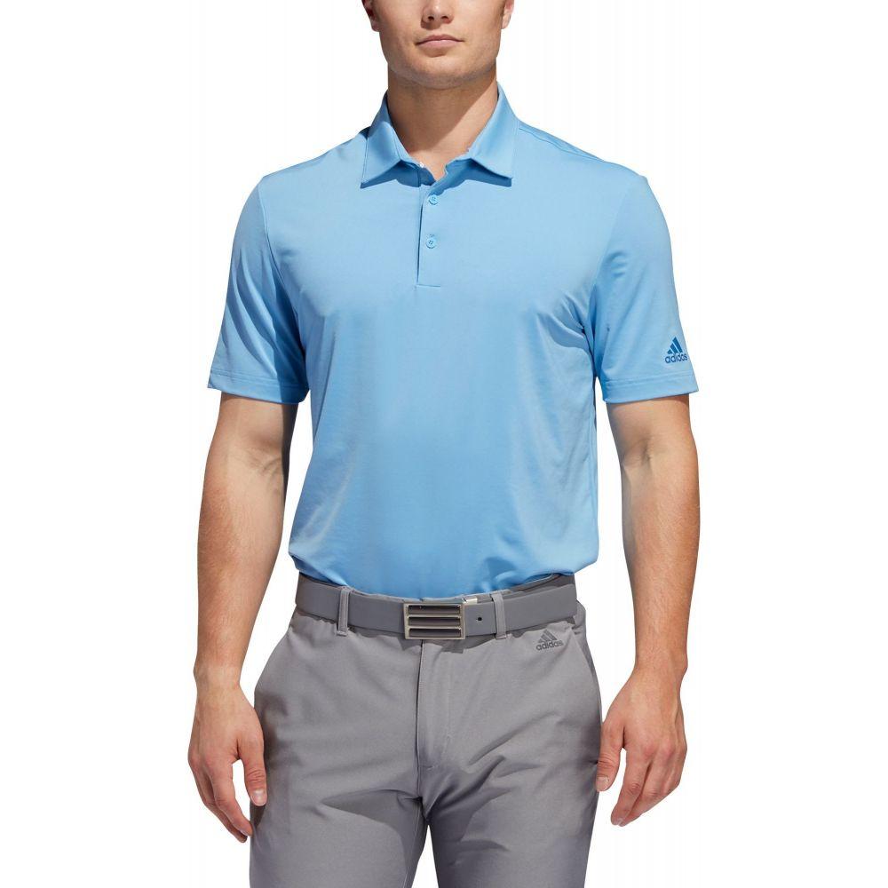 アディダス adidas Golf メンズ ゴルフ ポロシャツ トップス【adidas Ultimate 2.0 Solid Golf Polo】Light Blue