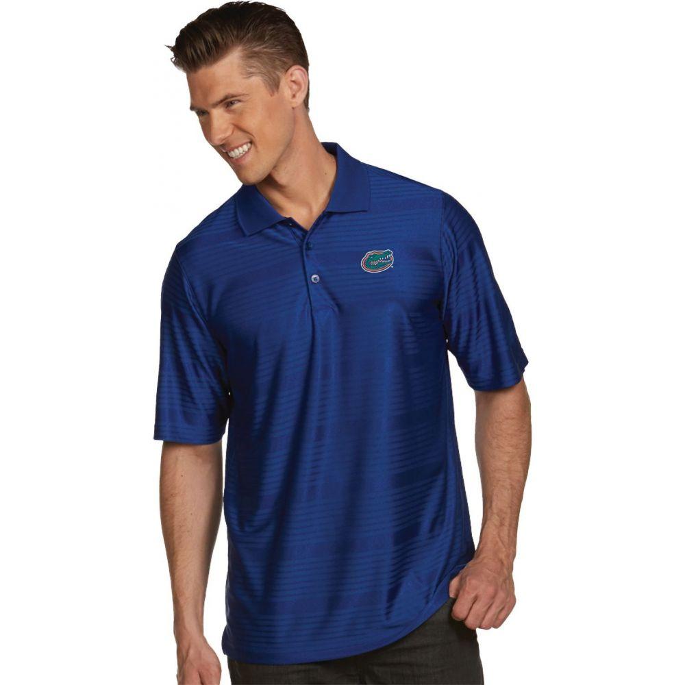 アンティグア Antigua メンズ ポロシャツ トップス【Florida Gators Blue Illusion Polo】