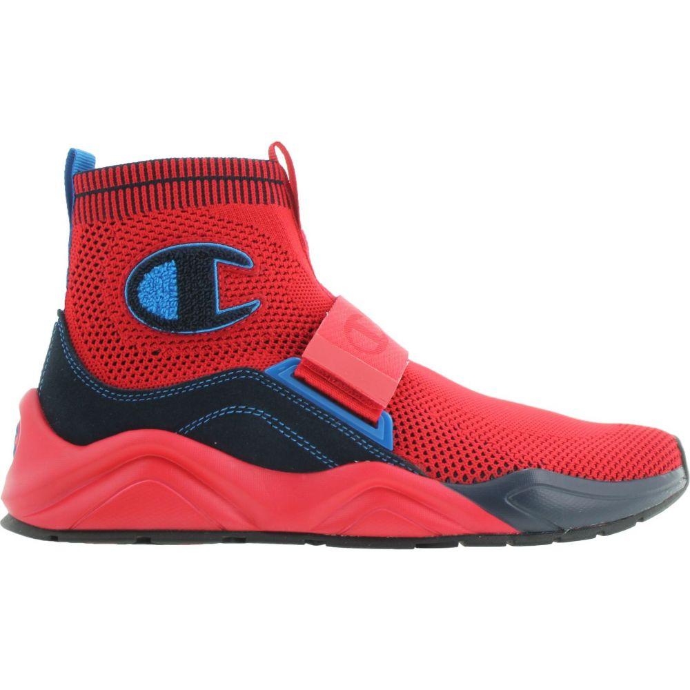 チャンピオン Champion メンズ スニーカー シューズ・靴【Rally Lockdown Shoes】Scarlet/Navy
