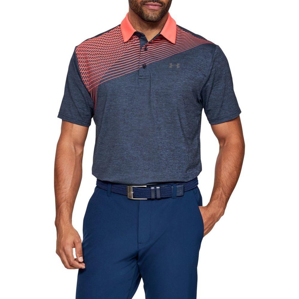 アンダーアーマー Under Armour メンズ ゴルフ ポロシャツ トップス【Playoff 2.0 Backswing Golf Polo】Academy/Pitch Gray