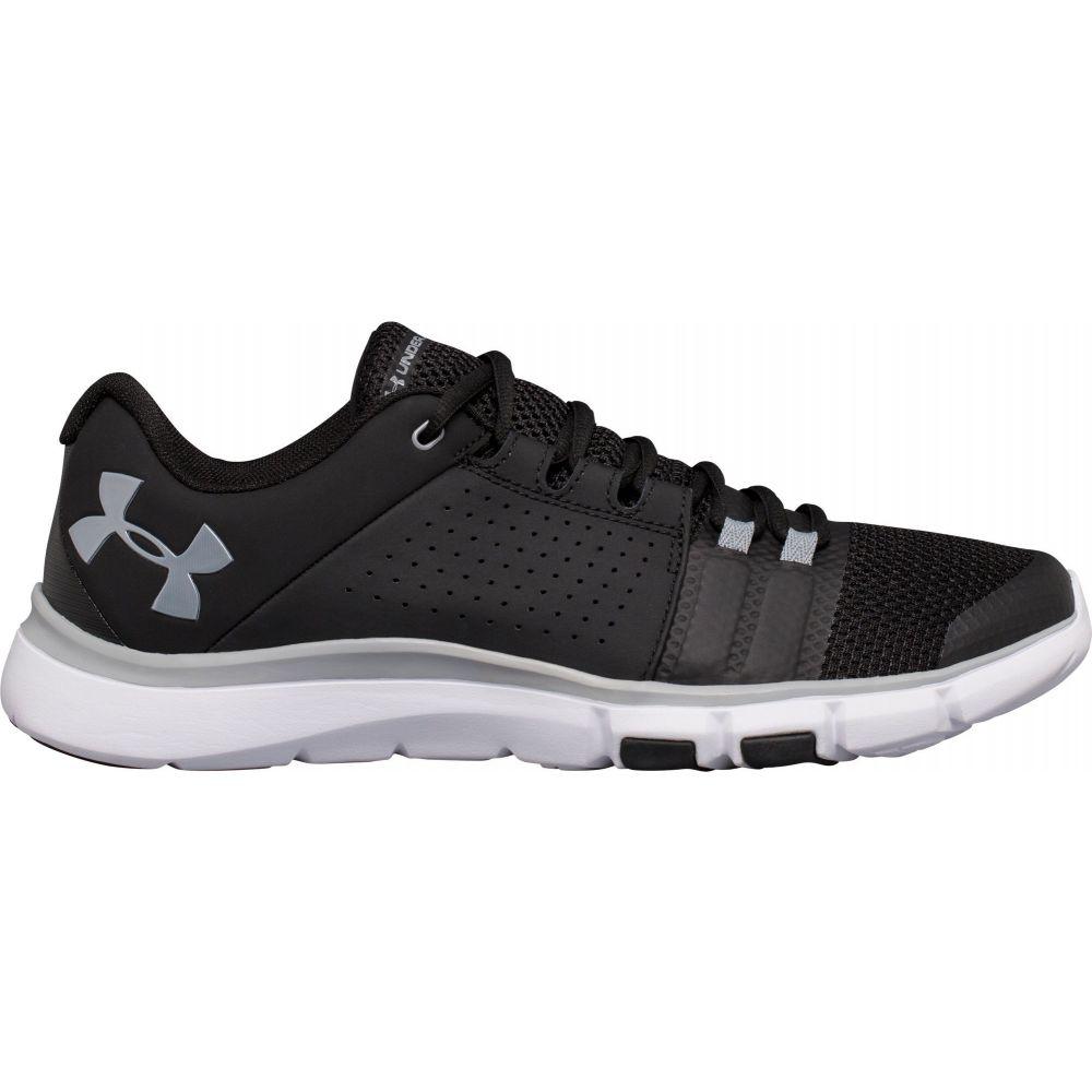 アンダーアーマー Under Armour メンズ フィットネス・トレーニング シューズ・靴【Strive 7 Training Shoes】Black/White