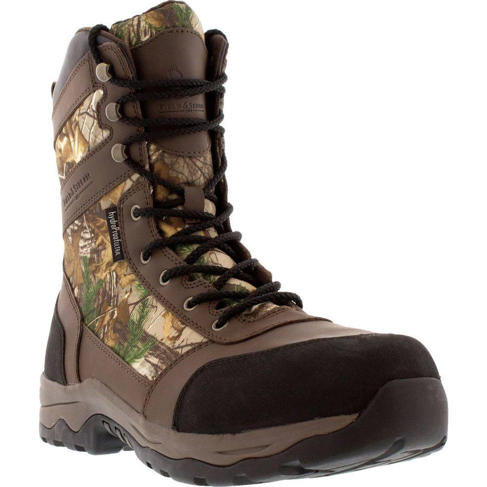 フィールドアンドストリーム Field & Stream メンズ ブーツ シューズ・靴【Woodland Tracker Realtree Xtra 400g Waterproof Hunting Boots】Realtree Xtra
