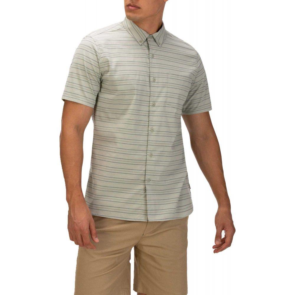 ハーレー Hurley メンズ 半袖シャツ トップス【Dri-FIT Staycay Button Down Short Sleeve Shirt】Spruce Fog