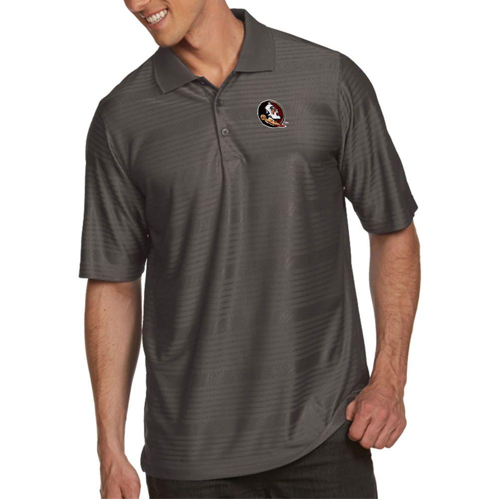 アンティグア Antigua メンズ ポロシャツ トップス【Florida State Seminoles Grey Illusion Polo】