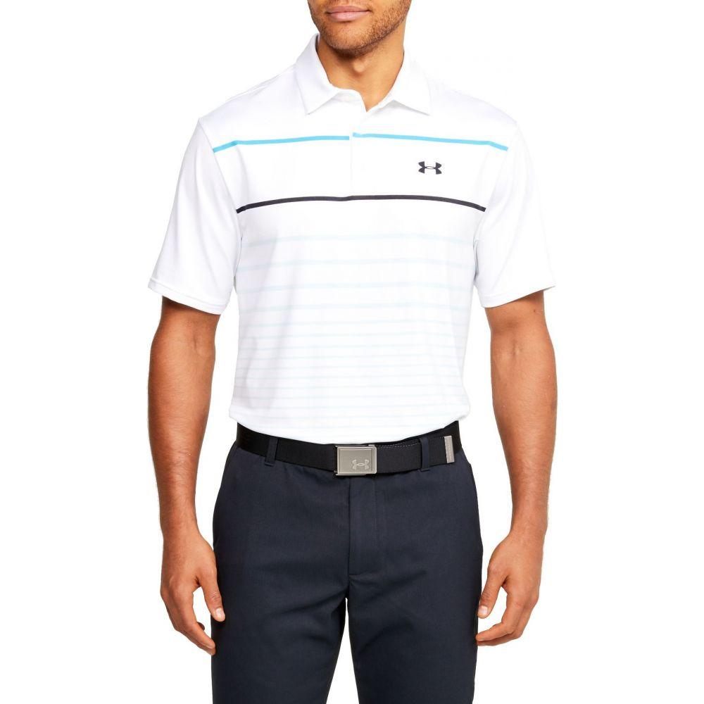 アンダーアーマー Under Armour メンズ ゴルフ ポロシャツ トップス【Playoff Golf Polo】White
