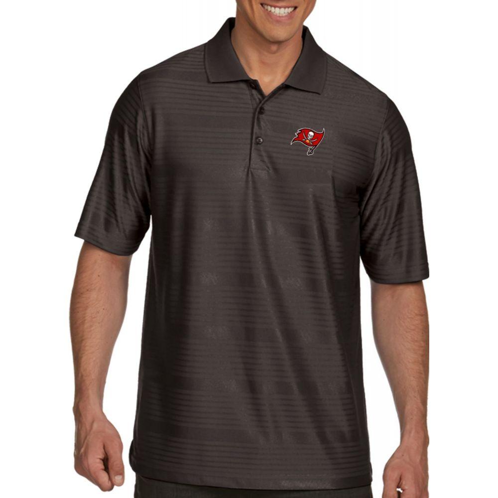 アンティグア Antigua メンズ ポロシャツ トップス【Tampa Bay Buccaneers Illusion Grey Xtra-Lite Polo】