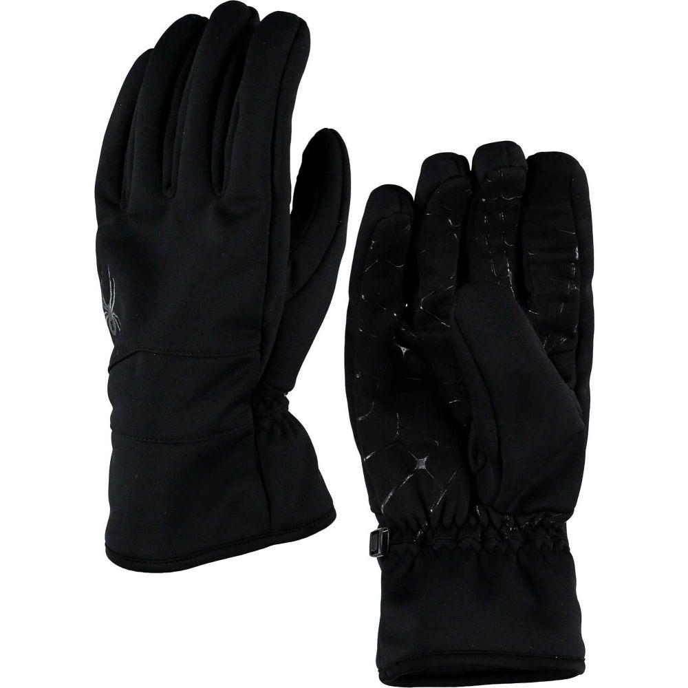 スパイダー Spyder メンズ スキー・スノーボード グローブ【Sypder Facer Conduct Ski Gloves】Black