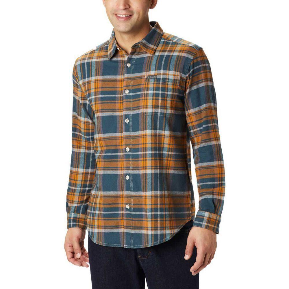 コロンビア Columbia メンズ シャツ フランネルシャツ トップス【Boulder Ridge Flannel Long Sleeve Shirt (Regular and Big & Tall)】Night Shadow Multi Tartan