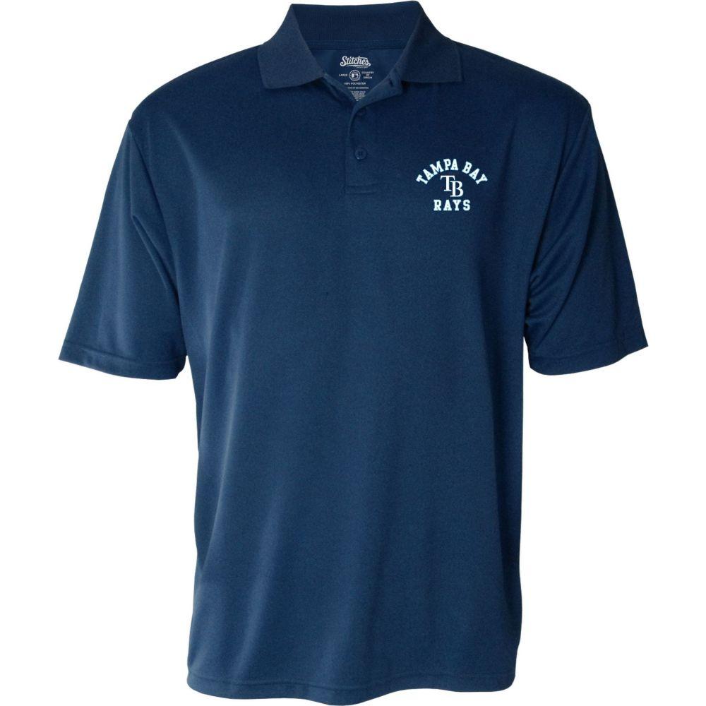 スティッチーズ Stitches メンズ ポロシャツ トップス【Tampa Bay Rays Polo】