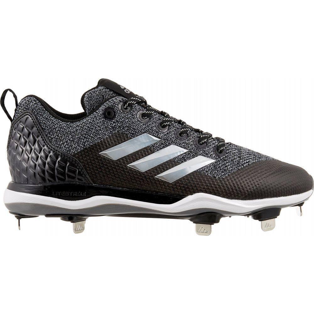 アディダス adidas メンズ 野球 スパイク シューズ・靴【Poweralley 5 Metal Baseball Cleats】Grey/Black