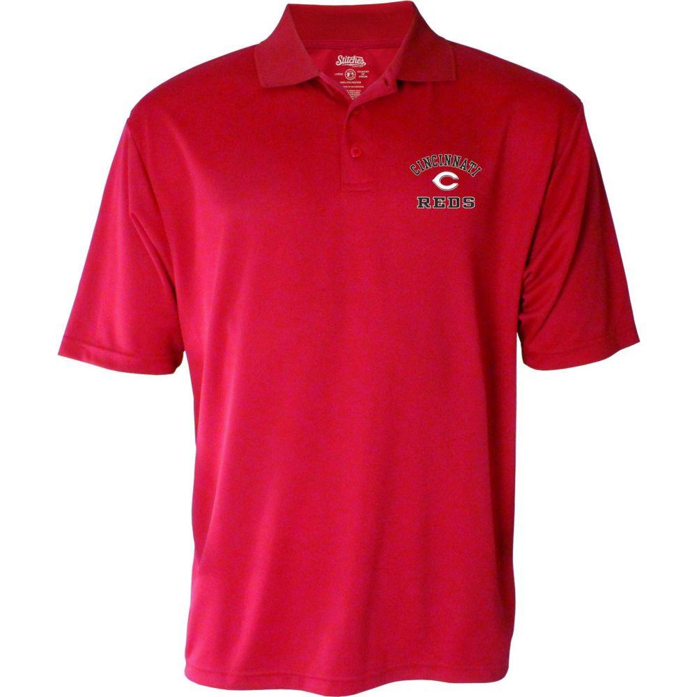 スティッチーズ Stitches メンズ ポロシャツ トップス【Cincinnati Reds Polo】