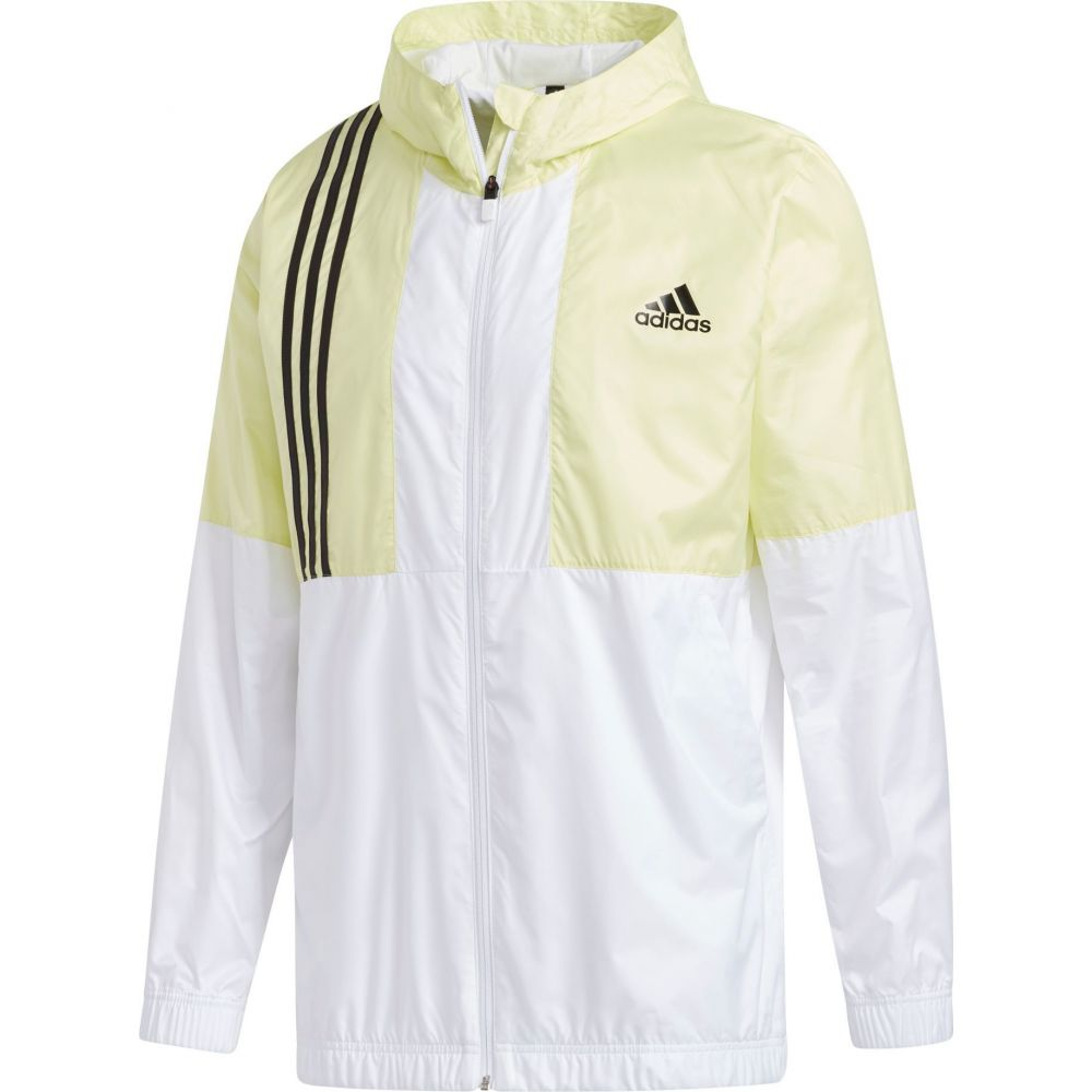 アディダス adidas メンズ ジャケット ウィンドブレーカー アウター【Axis Wind Jacket】Yellow Tint