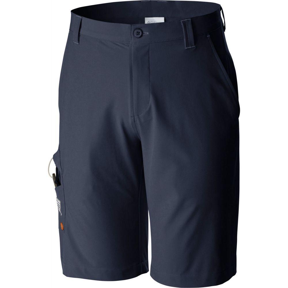 コロンビア Columbia メンズ ショートパンツ ボトムス・パンツ【Terminal Tackle Shorts (Regular and Big & Tall)】Collegiate Navy/SunsetRed