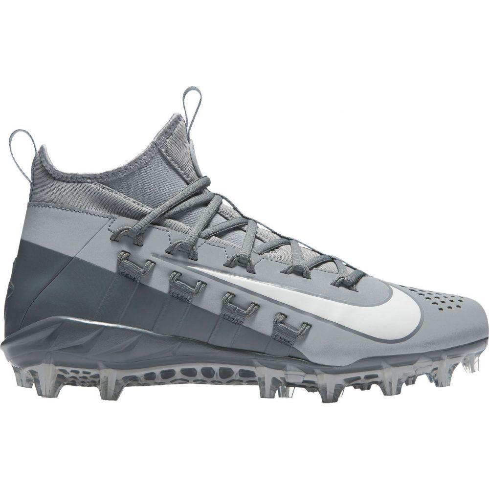 ナイキ Nike メンズ ラクロス スパイク シューズ・靴【Alpha Huarache 6 Elite Lacrosse Cleats】Grey/White