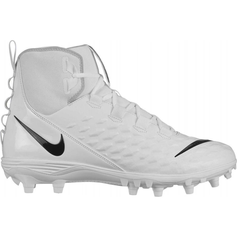 ナイキ Nike メンズ アメリカンフットボール スパイク シューズ・靴【Force Savage Varsity 2 Mid Football Cleats】White/Black