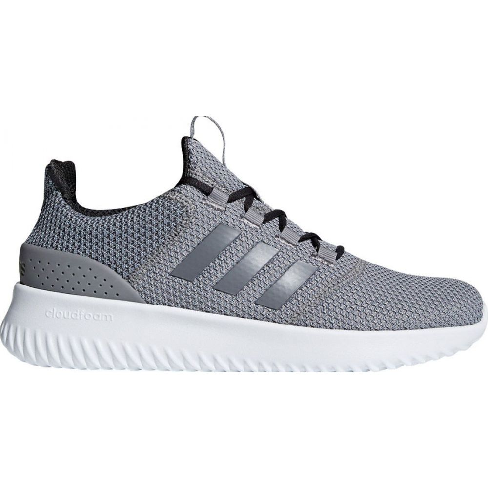 アディダス adidas メンズ スニーカー シューズ・靴【Cloudfoam Ultimate Shoes】Grey/White
