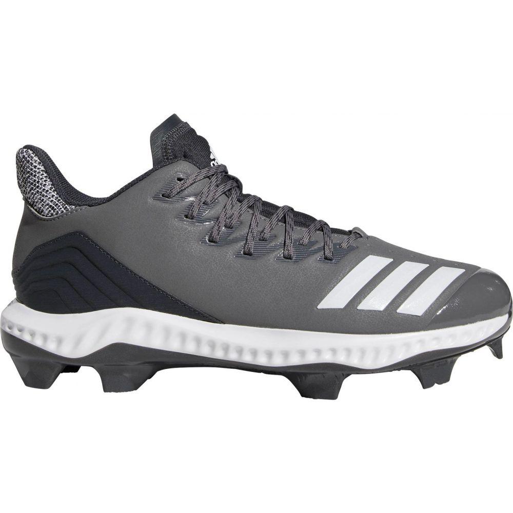 アディダス adidas メンズ 野球 スパイク シューズ・靴【Icon Bounce Baseball Cleats】Grey/White