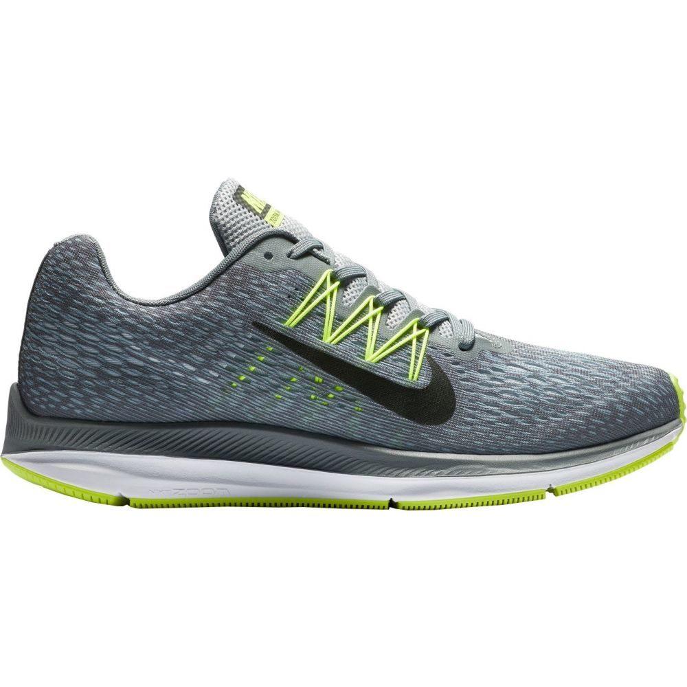 ナイキ Nike メンズ ランニング・ウォーキング シューズ・靴【Air Zoom Winflo 5 Running Shoes】Grey/Lime
