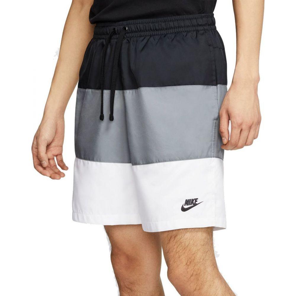 ナイキ Nike メンズ ショートパンツ ボトムス・パンツ【Sportswear Novelty Woven Shorts】Black/Smoke Grey