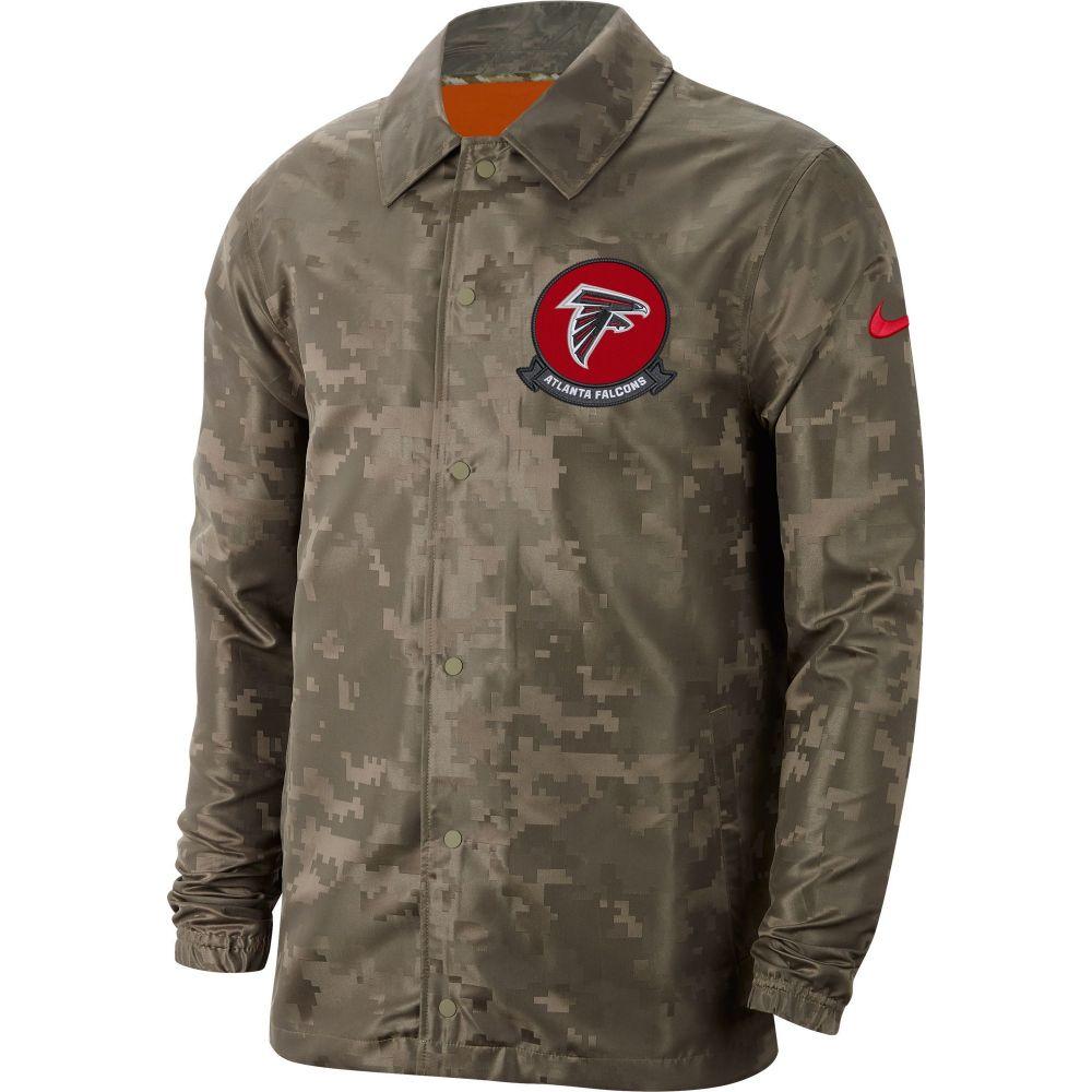 ナイキ Nike メンズ ジャケット アウター【Salute to Service Atlanta Falcons Olive Lightweight Camo Jacket】