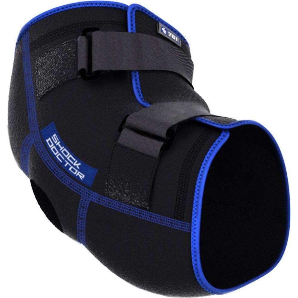 ショックドクター Shock Doctor メンズ フィットネス・トレーニング サポーター【Elbow Ice Compression Wrap】Black