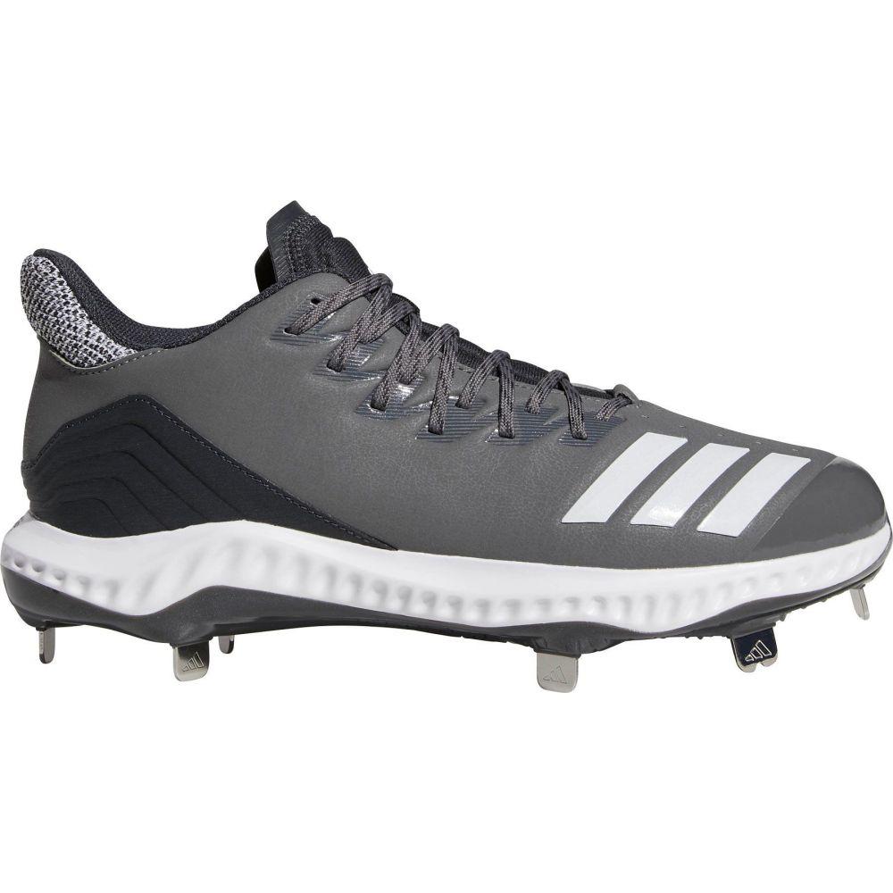 アディダス adidas メンズ 野球 スパイク シューズ・靴【Icon Bounce Metal Baseball Cleats】Grey/White