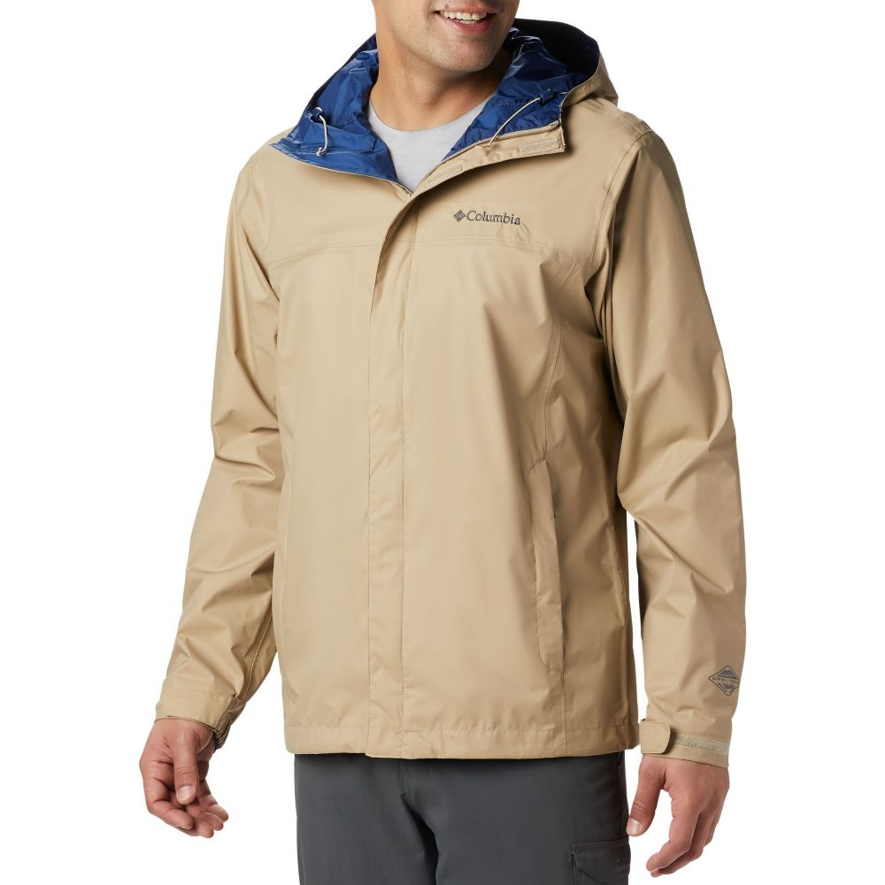 コロンビア Columbia メンズ レインコート アウター【Watertight II Rain Jacket (Regular and Big & Tall)】British Tan