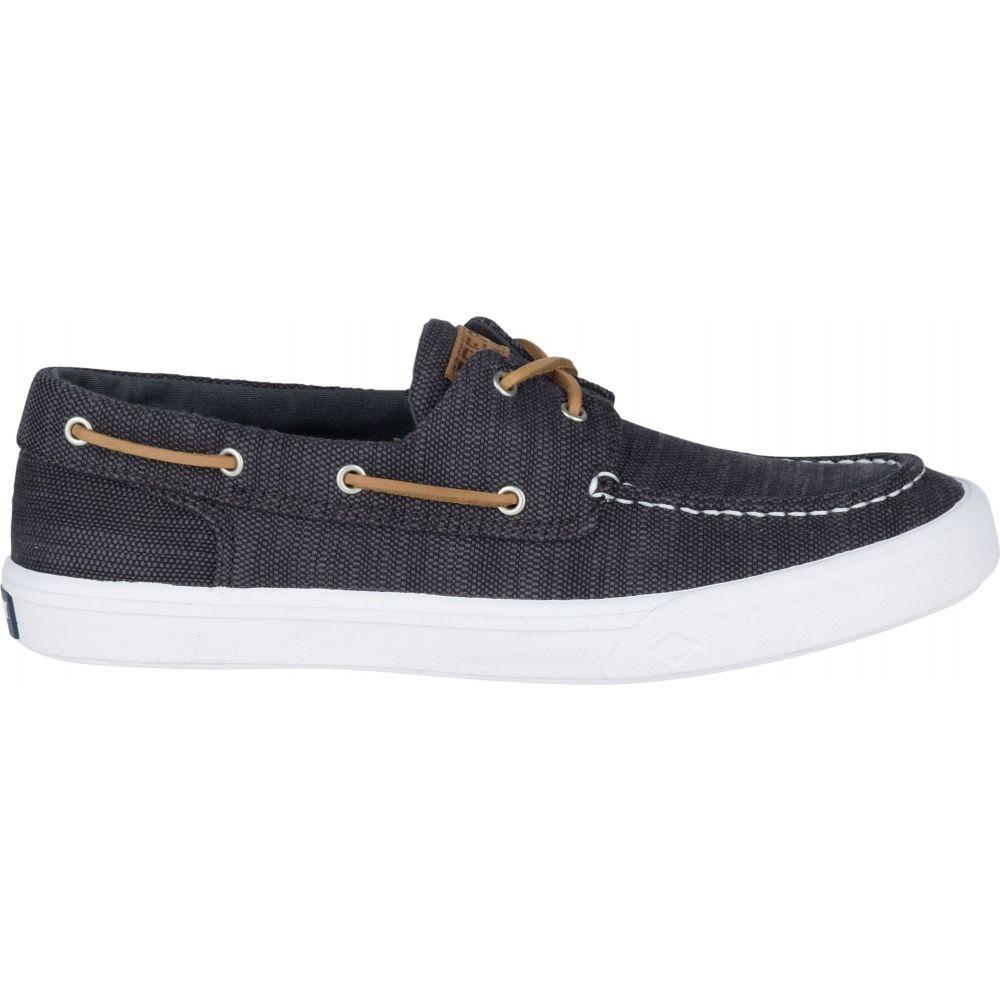 スペリートップサイダー Sperry Top-Sider メンズ デッキシューズ シューズ・靴【Sperry Bahama II Boat Washed Casual Shoes】Black