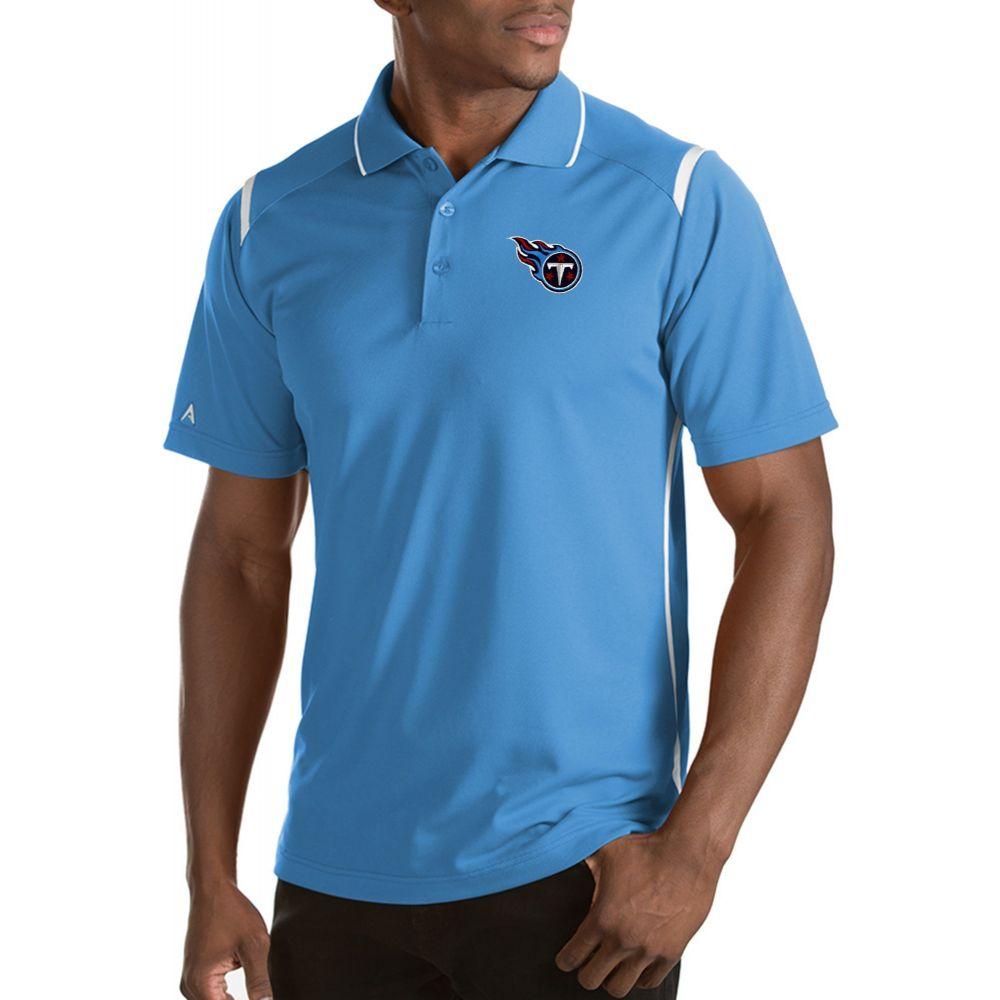 アンティグア Antigua メンズ ポロシャツ トップス【Tennessee Titans Merit Blue Xtra-Lite Polo】