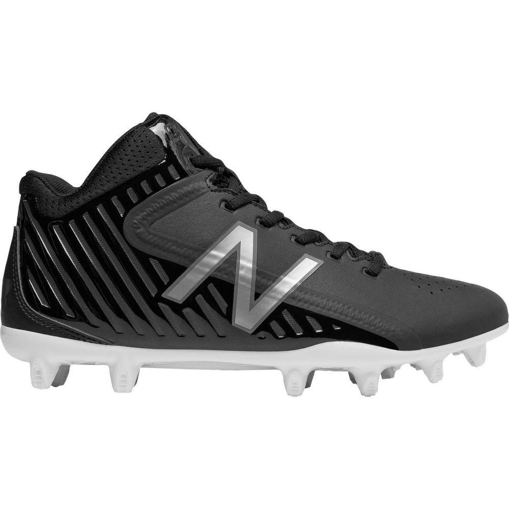 ニューバランス New Balance メンズ ラクロス スパイク シューズ・靴【Rush LX Mid Lacrosse Cleats】Black/Black