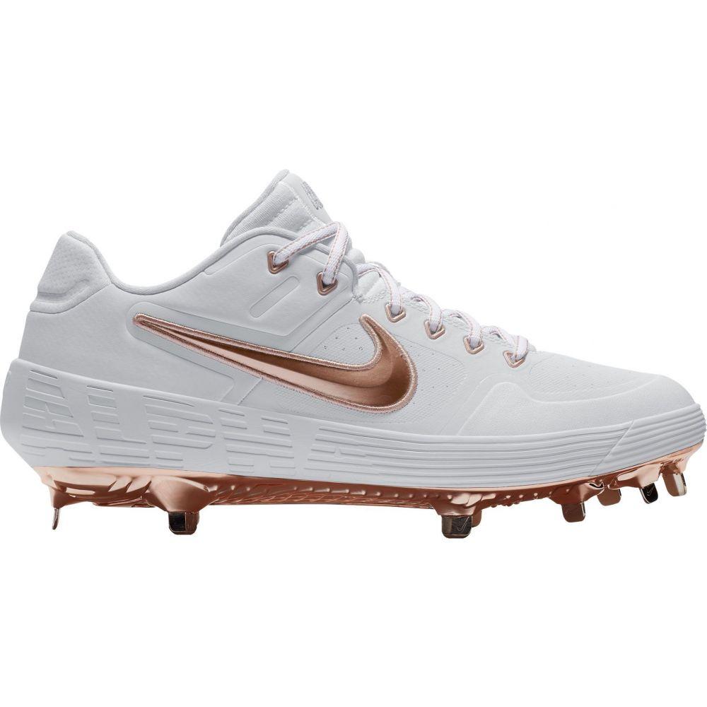 ナイキ Nike メンズ 野球 スパイク シューズ・靴【Alpha Huarache Elite 2 Baseball Cleats】White/Gold