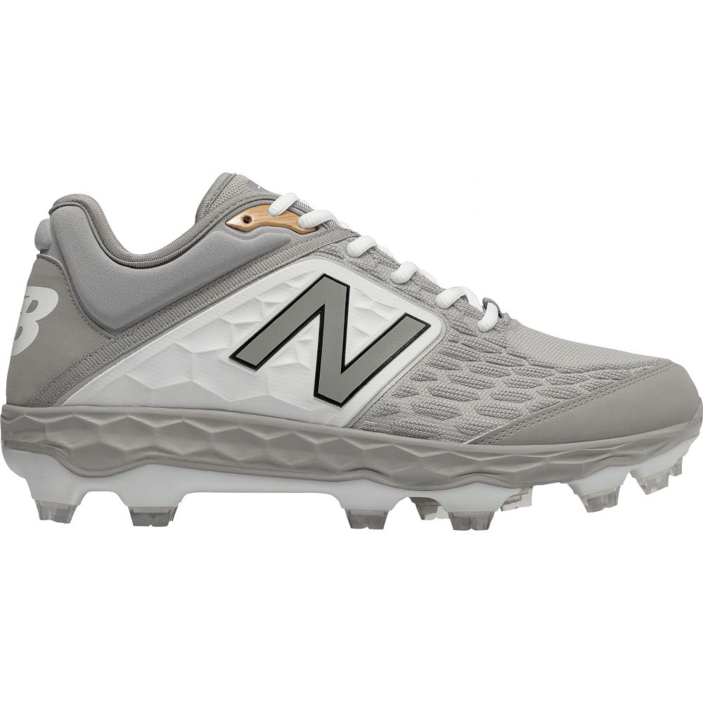 ニューバランス New Balance メンズ 野球 スパイク シューズ・靴【Fresh Foam 3000 V4 TPU Baseball Cleats】Grey/White