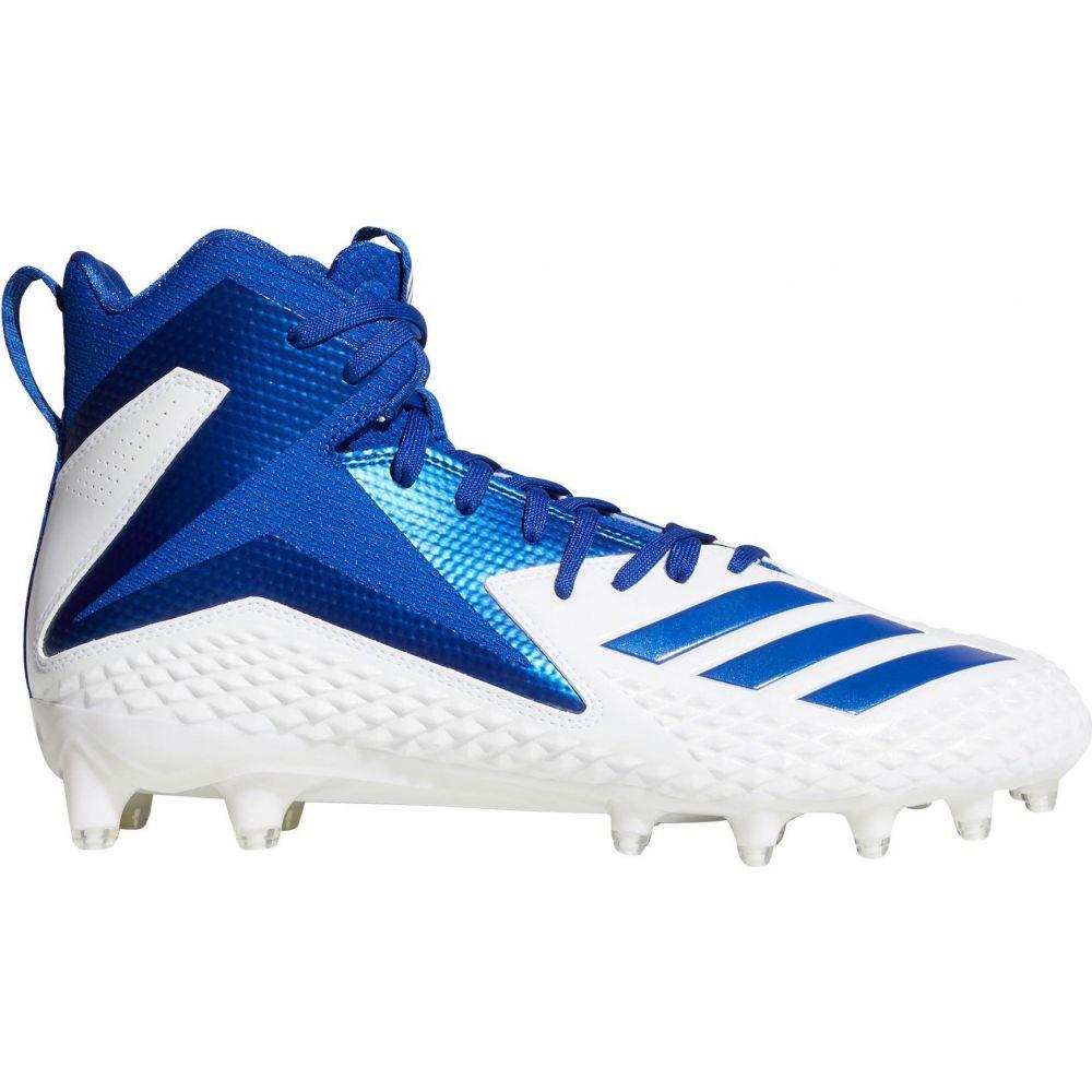 アディダス adidas メンズ アメリカンフットボール スパイク シューズ・靴【Freak X Carbon Mid Football Cleats】White/Blue