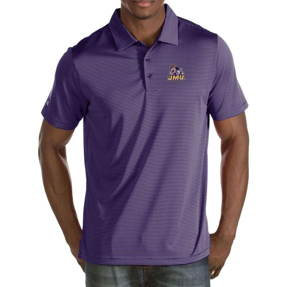 アンティグア Antigua メンズ ポロシャツ トップス【James Madison Dukes Purple Quest Polo】