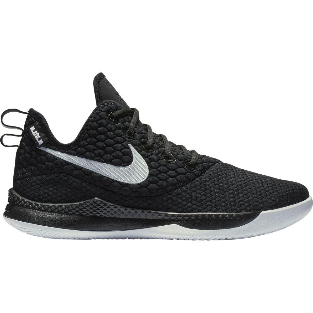 ナイキ Nike メンズ バスケットボール シューズ・靴【LeBron Witness III Basketball Shoes】Black/White
