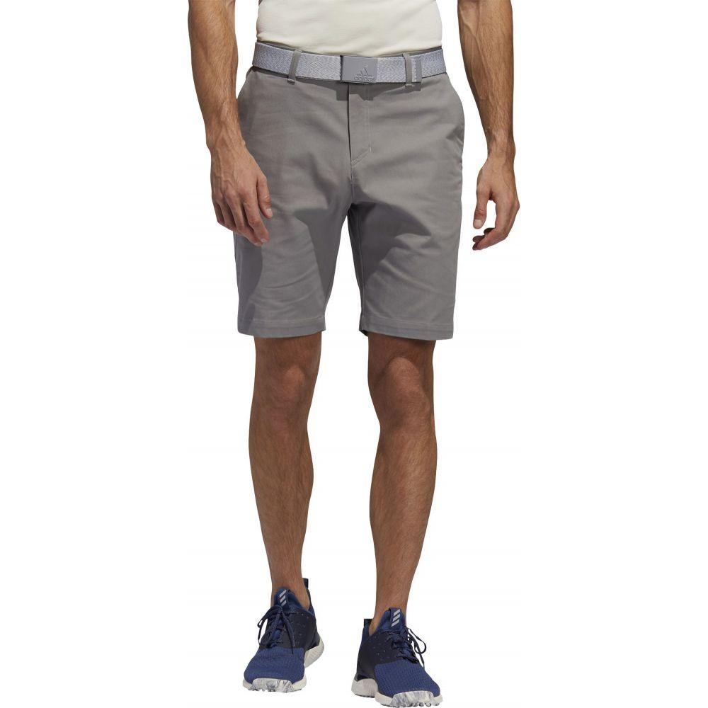 アディダス adidas Golf メンズ ゴルフ ショートパンツ ボトムス・パンツ【adidas AdiCROSS Cotton Stretch Golf Shorts】Dove Grey