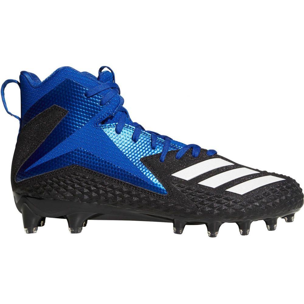 アディダス adidas メンズ アメリカンフットボール スパイク シューズ・靴【Freak X Carbon Mid Football Cleats】Black/Blue
