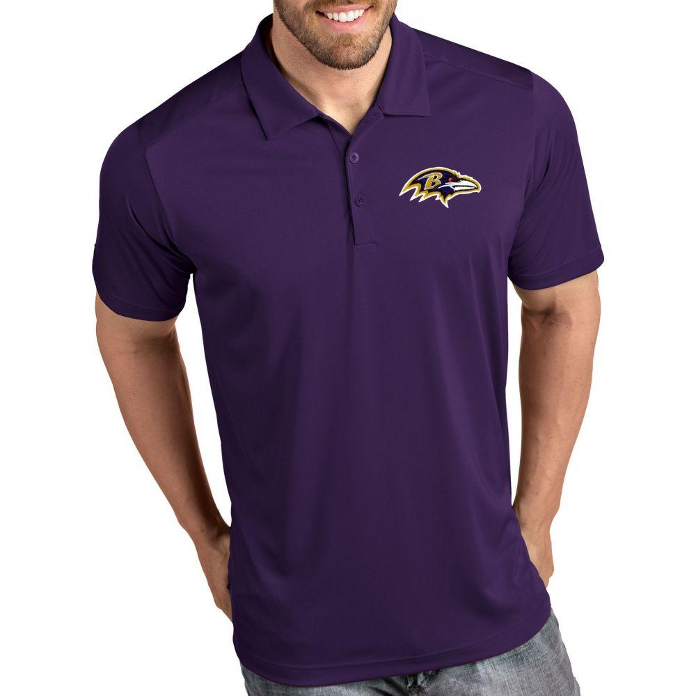 アンティグア Antigua メンズ ポロシャツ トップス【Baltimore Ravens Tribute Purple Polo】
