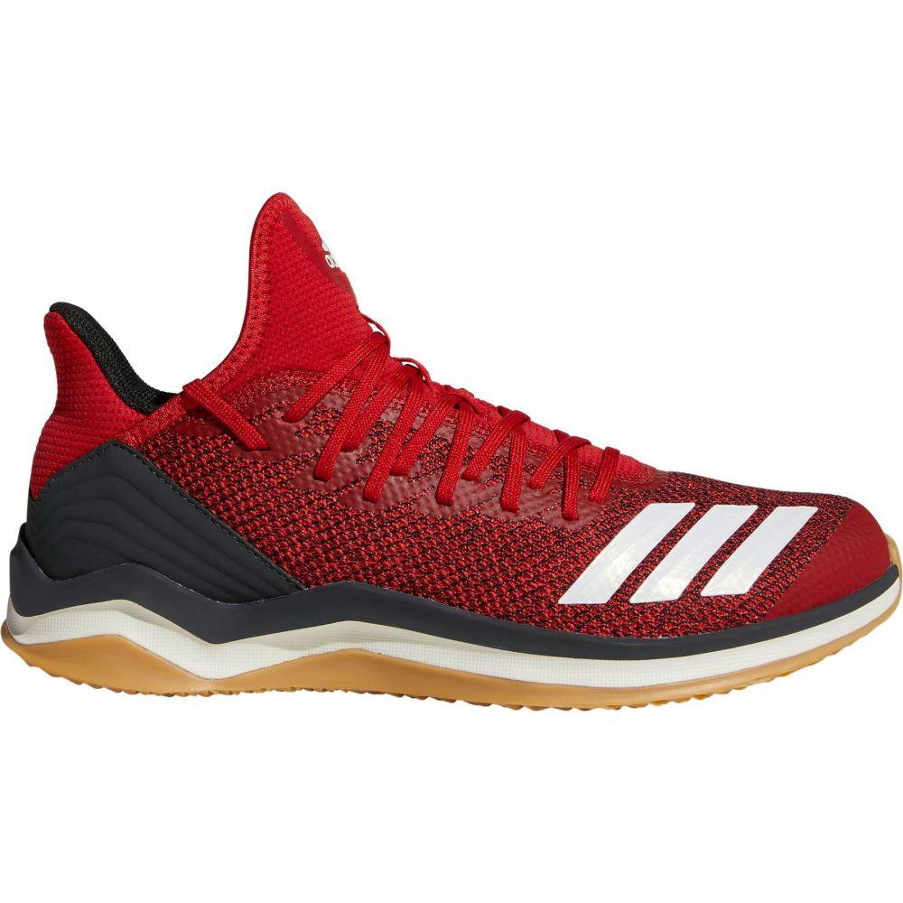 アディダス adidas メンズ 野球 シューズ・靴【Icon 4 Baseball Turf Shoes】Red/White