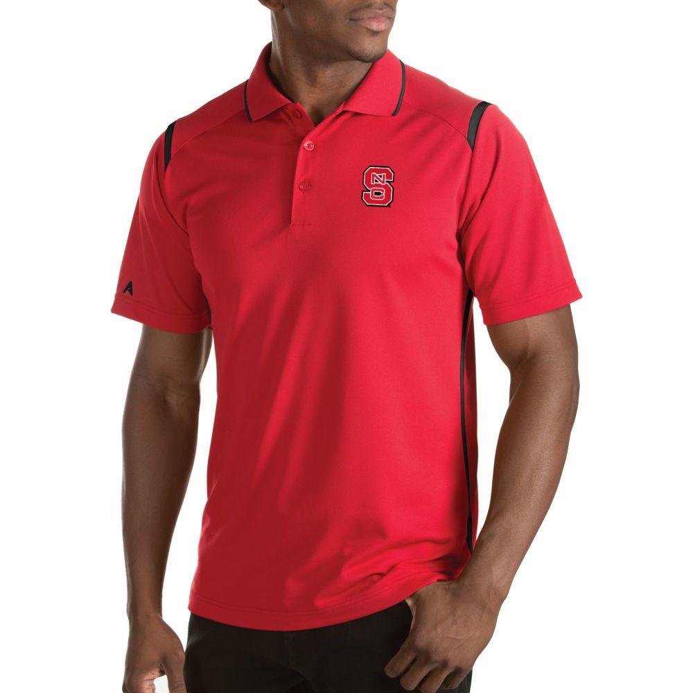 アンティグア Antigua メンズ ポロシャツ トップス【NC State Wolfpack Merit Xtra-Lite Red Polo】