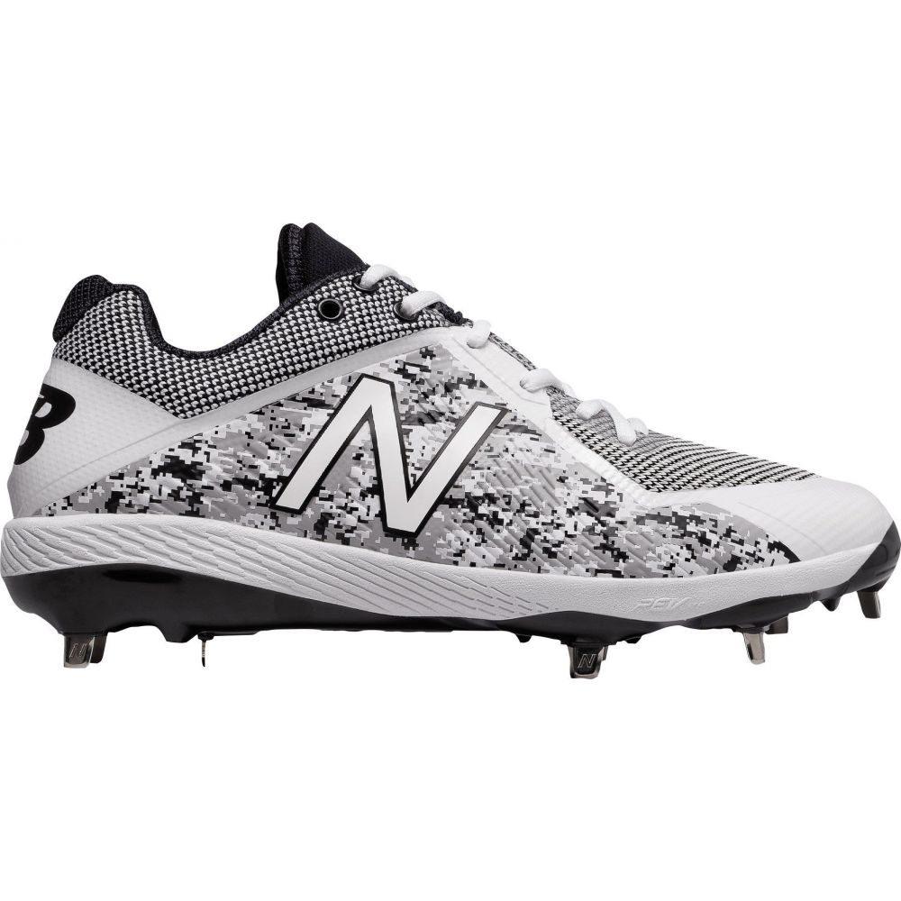 ニューバランス New Balance メンズ 野球 スパイク シューズ・靴【4040 V4 Pedroia Metal Baseball Cleats】Camo/White