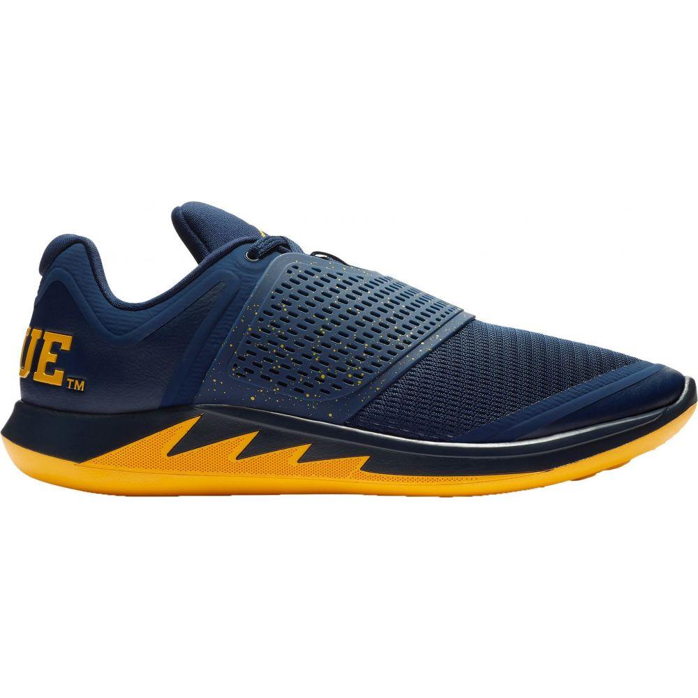 ナイキ Nike メンズ ランニング・ウォーキング シューズ・靴【Jordan Grind 2 Michigan Running Shoes】Navy/Yellow