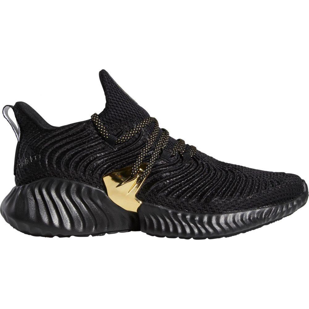 アディダス adidas メンズ ランニング・ウォーキング シューズ・靴【Alphabounce Instinct Three Stripe Life Running Shoes】Black
