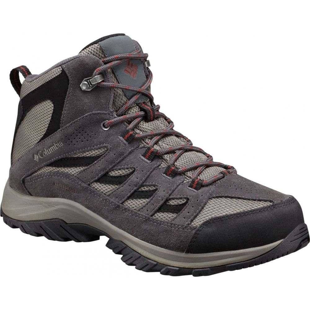 コロンビア Columbia メンズ ハイキング・登山 ブーツ シューズ・靴【Crestwood Mid Waterproof Hiking Boots】Quarry/Deep Rust