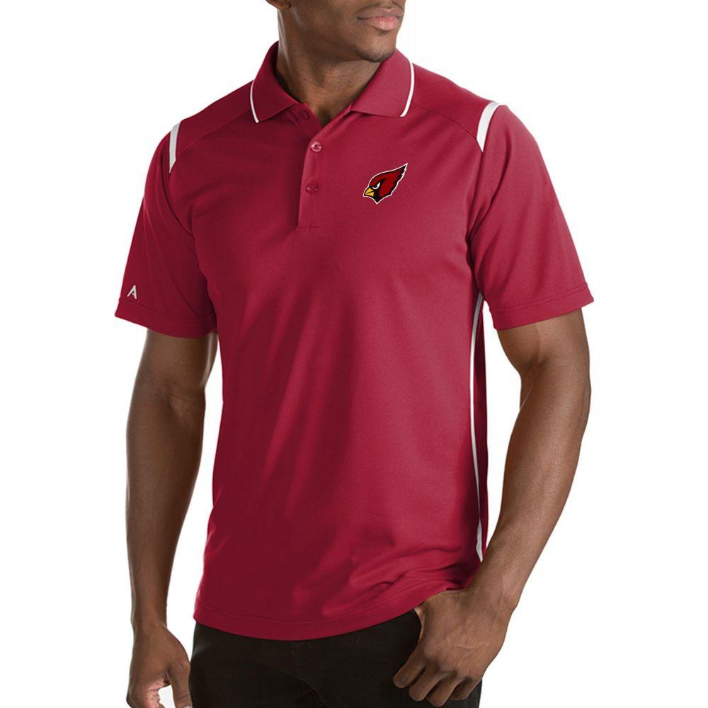 アンティグア Antigua メンズ ポロシャツ トップス【Arizona Cardinals Merit Red Xtra-Lite Polo】