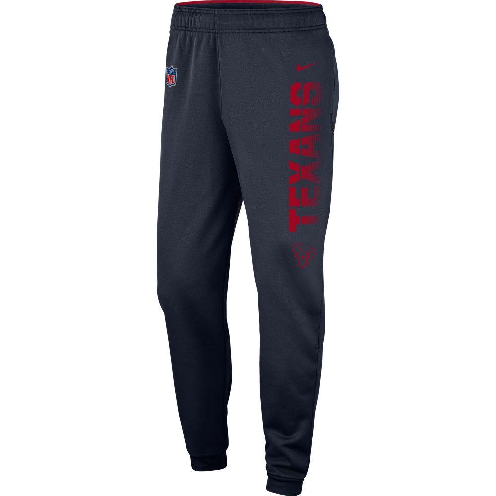 ナイキ Nike メンズ フィットネス・トレーニング ボトムス・パンツ【Houston Texans Sideline Therma-FIT Performance Navy Pants】
